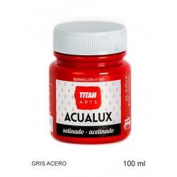 Acualux Satinado 100ml Gris...