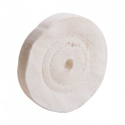 Disco Algodón 100mm  Eje RATIO