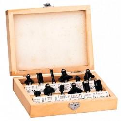 Caja de 12 Fresas EINHELL