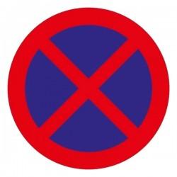 Señal Nº 27 Prohibido Parar...