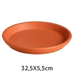 Plato Barro 32,5X5,5 FLONATUR