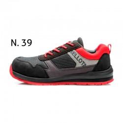Zapato Street Negro/Rojo...
