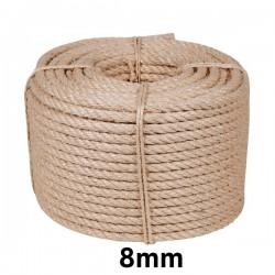Cuerda Cableada Sisal 8mm...