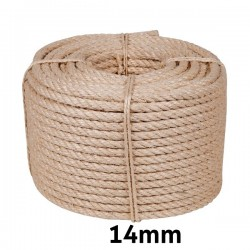 Cuerda Cableada Sisal 14mm...