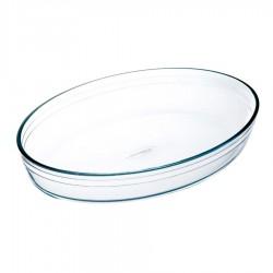 Fuente Oval Vidrio 30x21 cm...