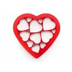 Molde Puzzle Corazón LÉKUÉ