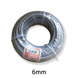 Cable Acero Galvanizado 6mm...