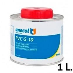 Adhesivo PVC G-10 1L UNECOL