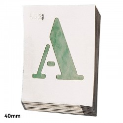 Abecedario Aluminio...
