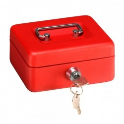 Caja Caudales Elegant Rojo...