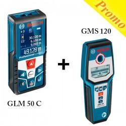 Pack Medidor Laser GLM 50 C...