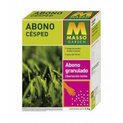 Abono Cesped 2Kg MASSO Garden