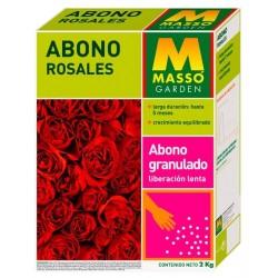 Abono Rosales 2kg MASSO Garden
