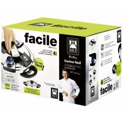 Olla Rapida Facile 4L Inox...