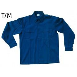 Camisa Azul Manga Larga...